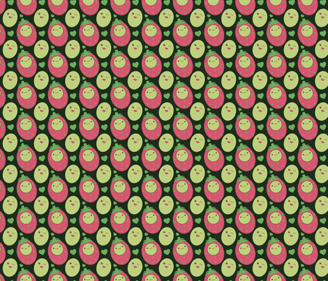 Melony Eggheads fabric by eppiepeppercorn on Spoonflower - custom fabric