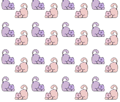 Country Kittens fabric by dixielee_designs on Spoonflower - custom fabric