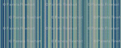 © 2011 Stripes - Tonal Blue
