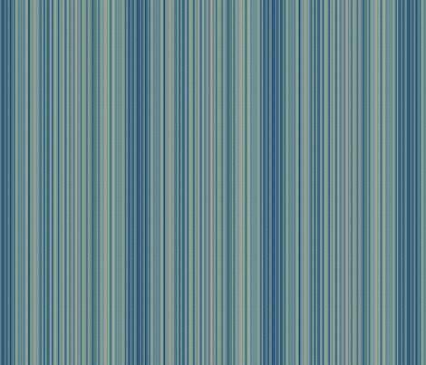 © 2011 Stripes - Tonal Blue fabric by glimmericks on Spoonflower - custom fabric