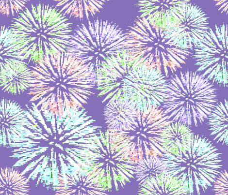 fireworks fabric by dolphinandcondor on Spoonflower - custom fabric