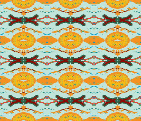 A stitch in Time fabric by susaninparis on Spoonflower - custom fabric