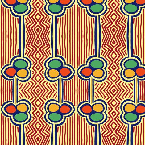 After Margaret Preston 1b by Su_G fabric by su_g on Spoonflower - custom fabric