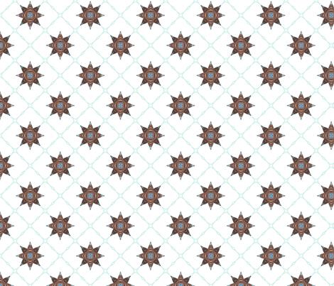 Netbomb - white fabric by siya on Spoonflower - custom fabric