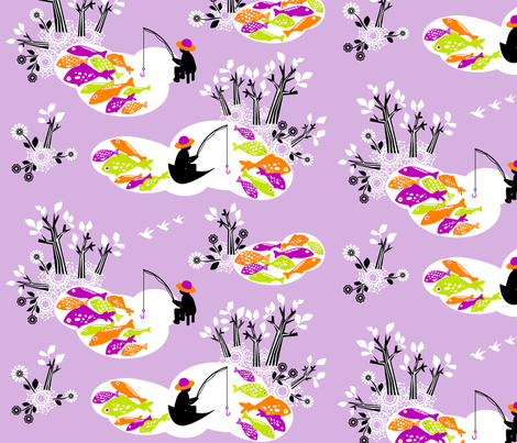 Hiding_from_the_fishermenViol fabric by niceandfancy on Spoonflower - custom fabric