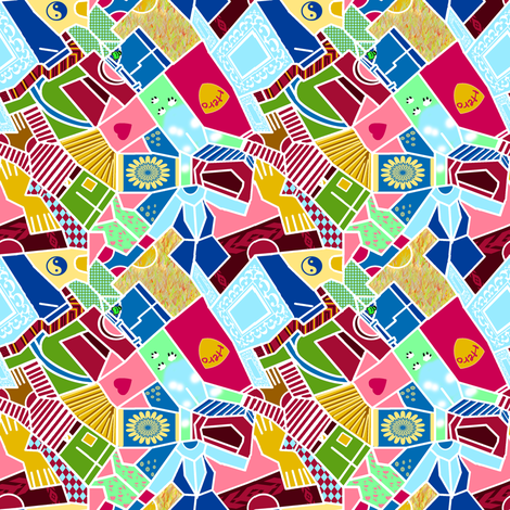 Laundry Sorting fabric by eclectic_house on Spoonflower - custom fabric