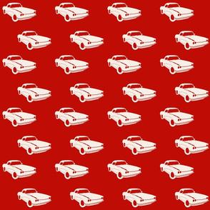 blanca car white red