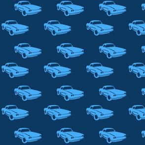 blanca car blue