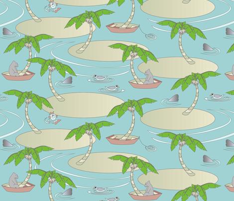 © 2011 Seaesta - Big fabric by glimmericks on Spoonflower - custom fabric