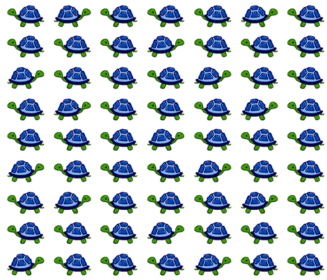 Turtles fabric by mandyd on Spoonflower - custom fabric