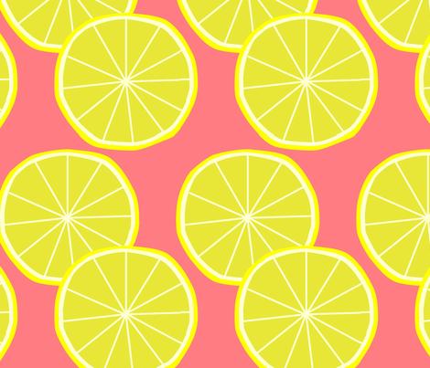 lemon fabric by slkanitz on Spoonflower - custom fabric