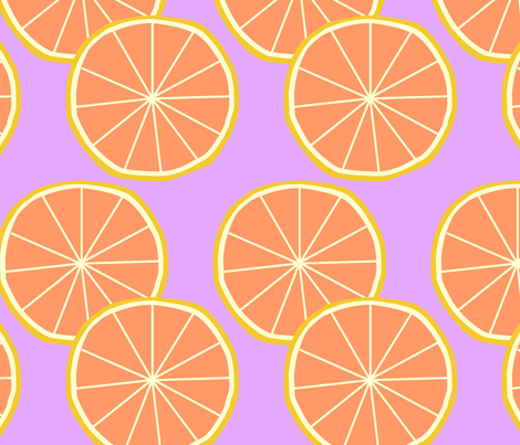 grapefruit fabric by slkanitz on Spoonflower - custom fabric
