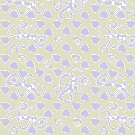© 2011 Lilac Impressions fabric by glimmericks on Spoonflower - custom fabric