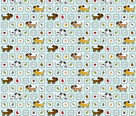 Dog Park fabric by m0dm0m on Spoonflower - custom fabric