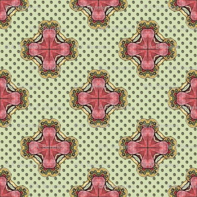 Ozrin's Crosses - Green