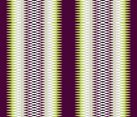 Geometric Zigzag fabric by sew_delightful on Spoonflower - custom fabric