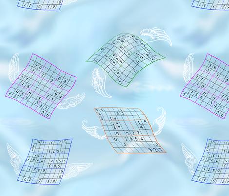 SudokuHeaven fabric by shirlene on Spoonflower - custom fabric