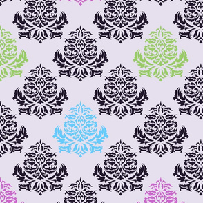 Bright Damask Pattern