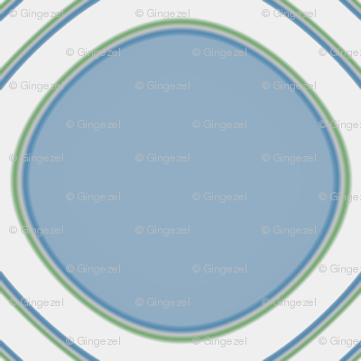 Ice Cream Parlor Circles in Blue © 2009 Gingezel™ Inc.