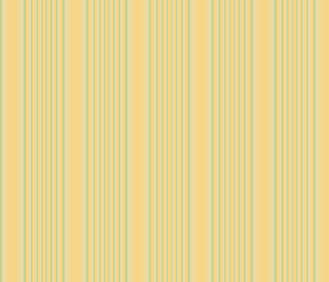 Daffodil Stripe © Gingezel™ 2009 fabric by gingezel on Spoonflower - custom fabric