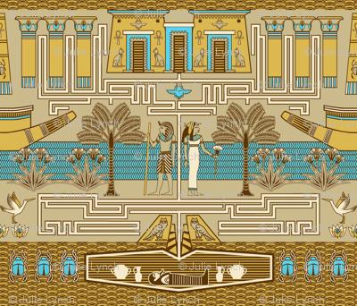Egyptian maze