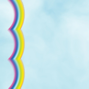 Glass Rainbow Border