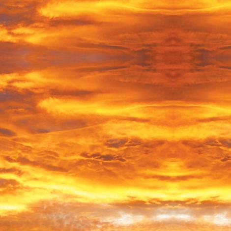 Fiery Sunrise fabric by animotaxis on Spoonflower - custom fabric