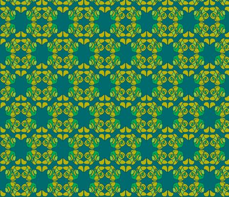 Lazy Sunday fabric by susaninparis on Spoonflower - custom fabric