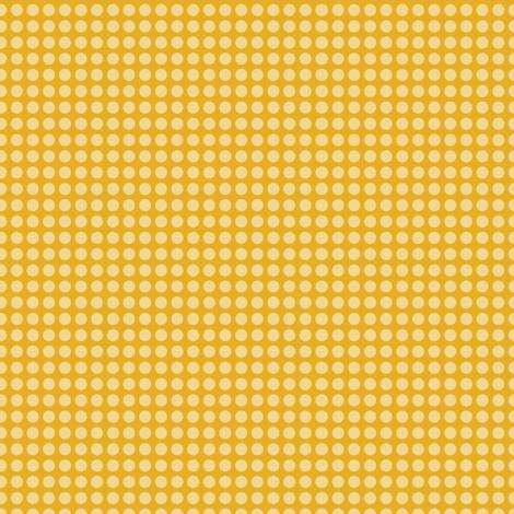 Honey Dots fabric by m0dm0m on Spoonflower - custom fabric