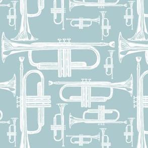 Trumpet Dusty Blue