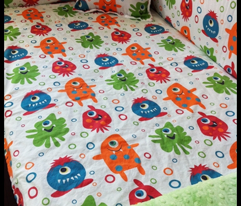 Monster fabric