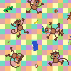 Monkeying Around (inspired by 5 Little Monkeys)