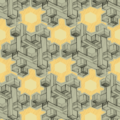 knot puzzle fabric by aperiodic on Spoonflower - custom fabric