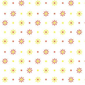YellowRedDaisies