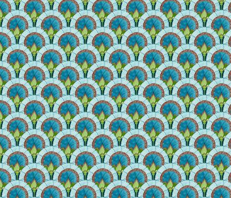 Marie - scallops fabric by katrinazerilli on Spoonflower - custom fabric
