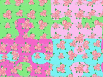 A rose puzzle