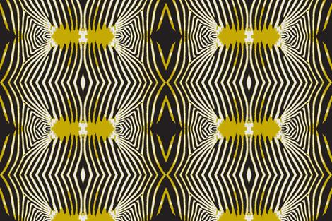 Optical Zebra fabric by susaninparis on Spoonflower - custom fabric