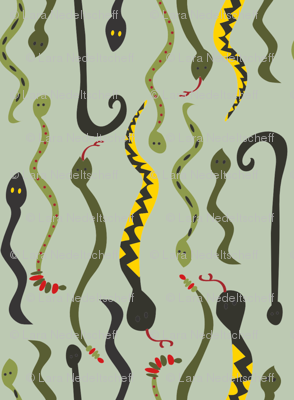 LaraGeorgine_Striped_Snakes