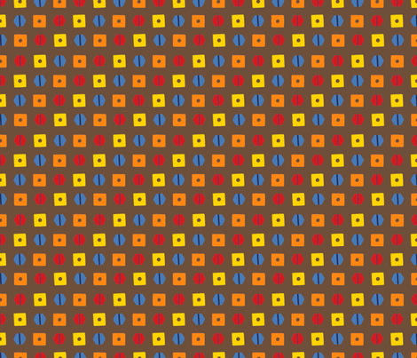 LaraGeorgine_Screw_tops fabric by larageorgine on Spoonflower - custom fabric