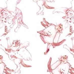 Owllykittens in pink