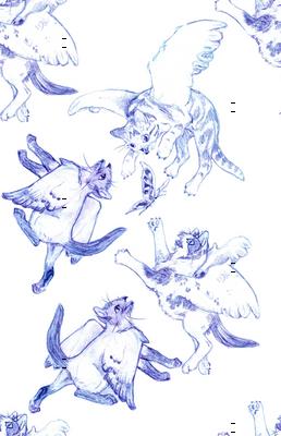 Owllykittens in blue