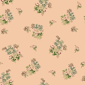 Vintage Bloom Coral 1