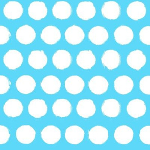 Painted Dots (Beachy Blue)