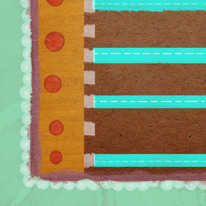 Napkin Pattern Sweet crafting colors