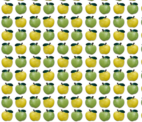 LargeApples fabric by incomparable on Spoonflower - custom fabric