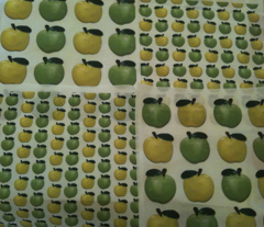 Green Apple-Yellow Apple
