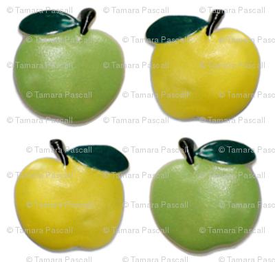 Green Apple-Yellow Apple