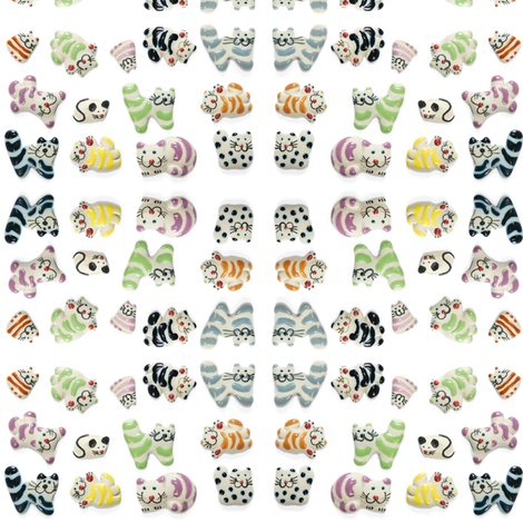 Cat and Mouse fabric by incomparable on Spoonflower - custom fabric