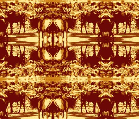 gnu2-ed fabric by cricket_hill_designs on Spoonflower - custom fabric