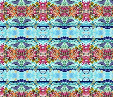 SwimmingAlongfabric fabric by jansouthard on Spoonflower - custom fabric